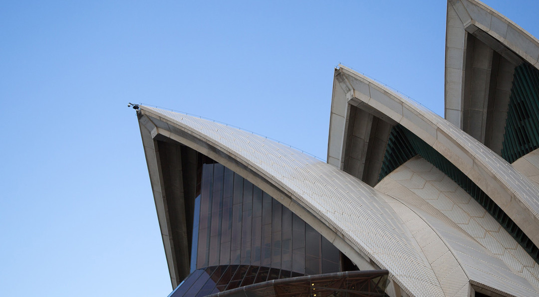 Image showing the top part of the Sydney Opera House